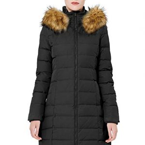 819aaf570 Orolay Women's Thickened Puffer Down Jacket Winter Hooded Coat ...